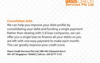 Consolidate debts by Oasis Credit