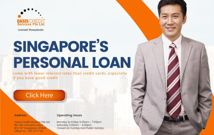 Singapore Personal loan by Oasis Credit