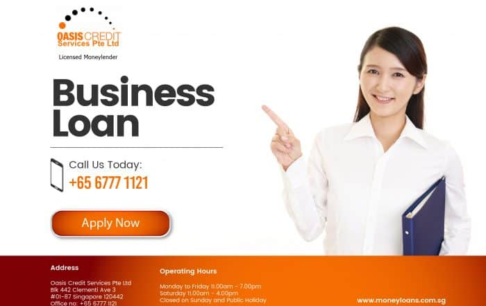 Best loan in Singapore by Oasis Credit